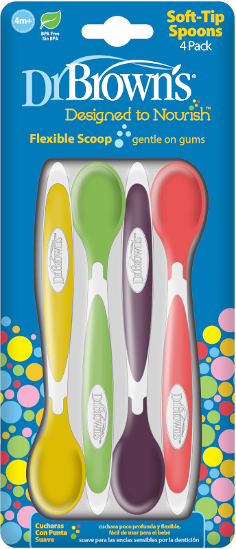 Dr Brown's Soft Tip Spoons 4-pack