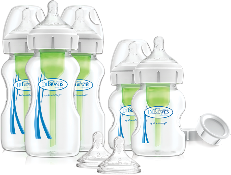 Dr. Brown's Options+ Newborn Wide-Neck Bottle Set
