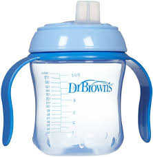 Training Cup 180 ml Soft Spout - Blue - Pearlized