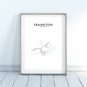 FRANKTON, QUEENSTOWN HOMETOWN PRINT