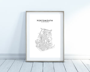 PORTSMOUTH, UK - HOMETOWN PRINT