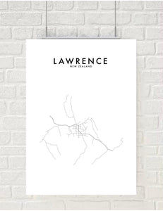 LAWRENCE HOMETOWN PRINT