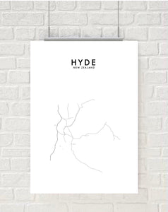 HYDE HOMETOWN PRINT