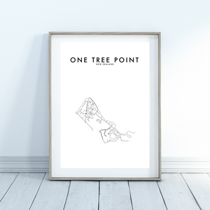 ONE TREE POINT HOMETOWN PRINT