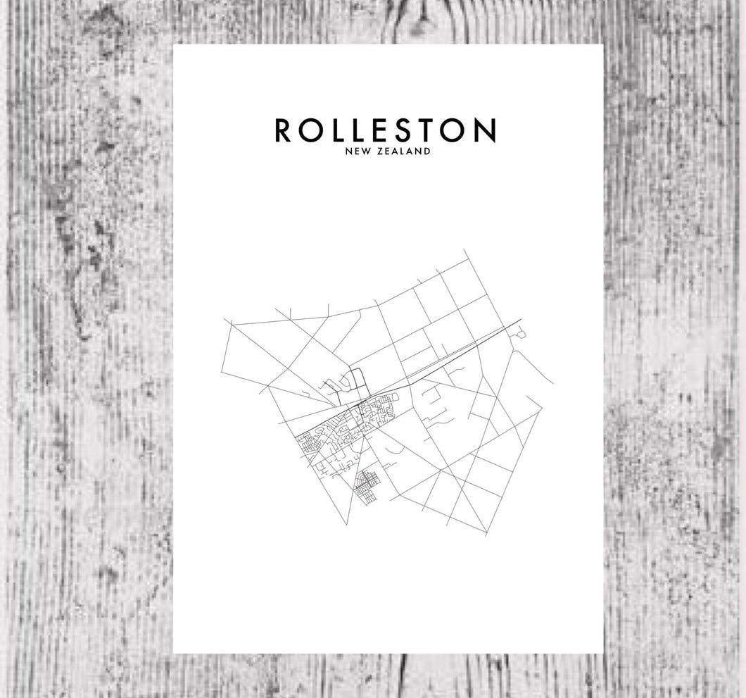 ROLLESTON HOMETOWN PRINT