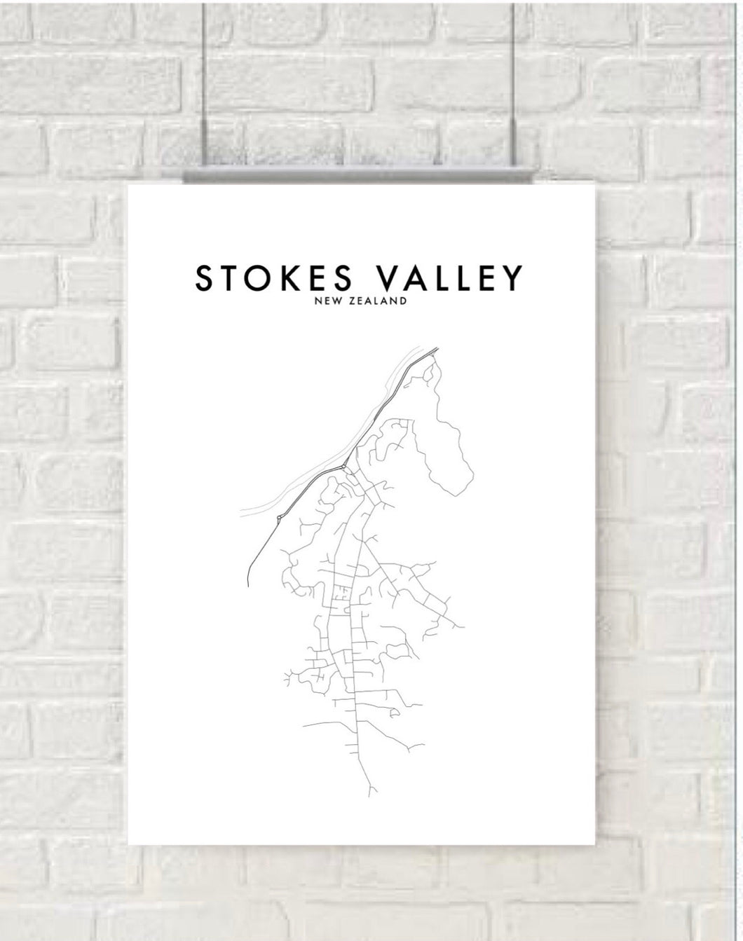 STOKES VALLEY HOMETOWN PRINT