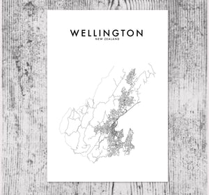 WELLINGTON HOMETOWN PRINT