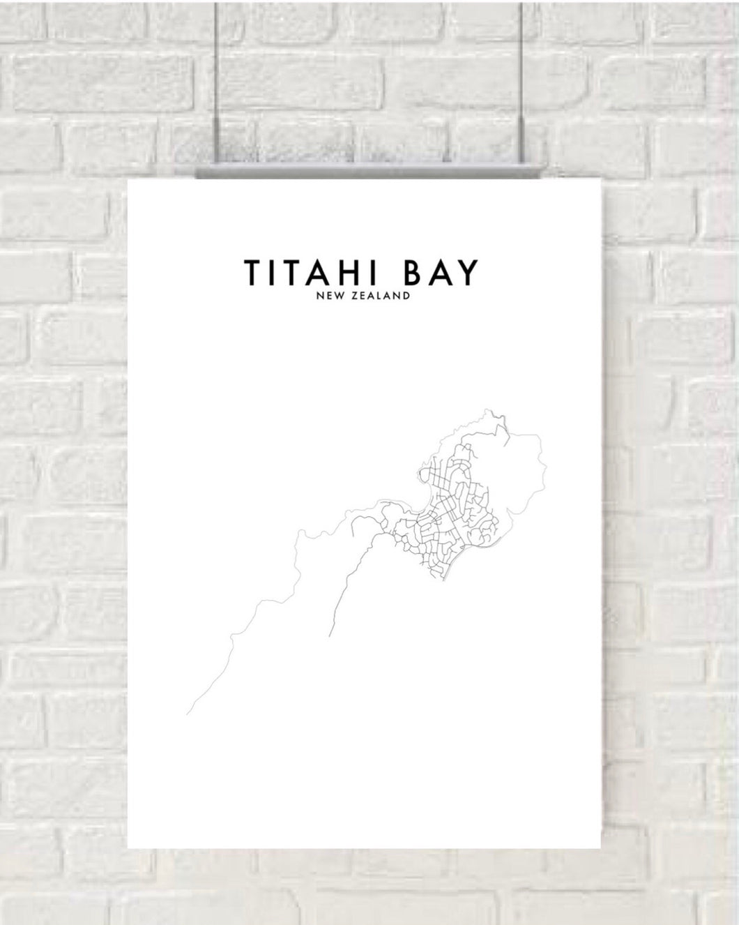 TITAHI BAY HOMETOWN PRINT