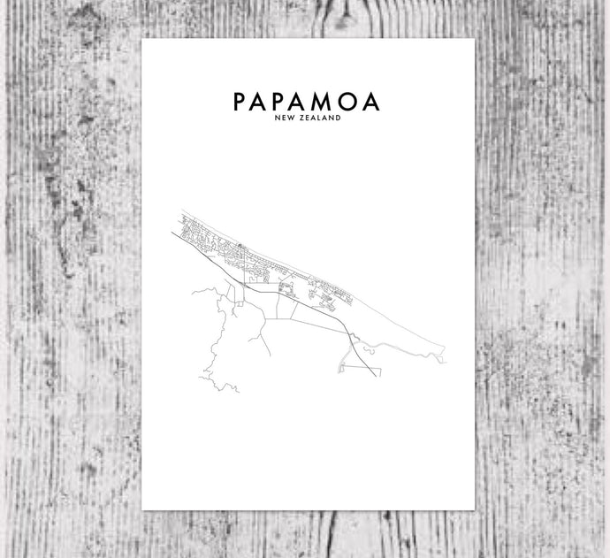 PAPAMOA HOMETOWN PRINT