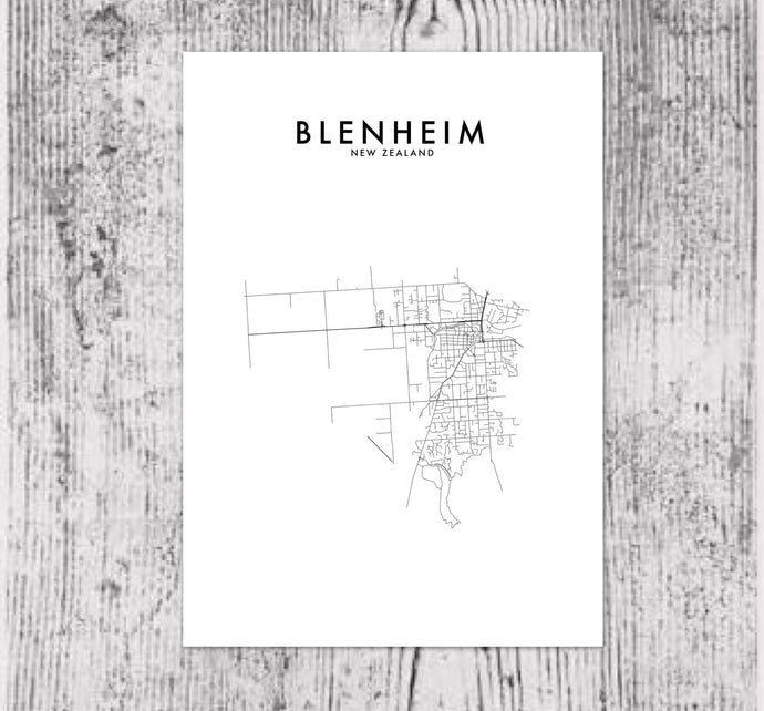 BLENHEIM HOMETOWN PRINT