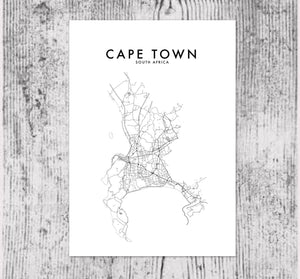 CAPE TOWN HOMETOWN PRINT