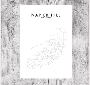 NAPIER HILL HOMETOWN PRINT