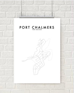 PORT CHALMERS HOMETOWN PRINT