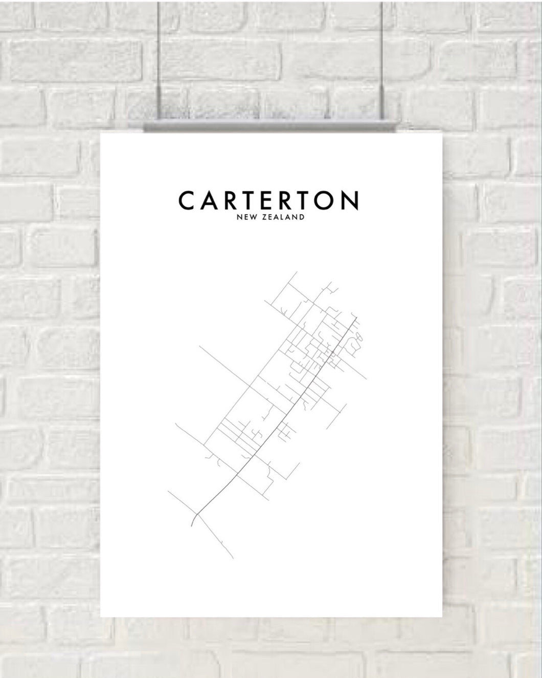 CARTERTON HOMETOWN PRINT