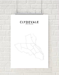 CLYDEVALE HOMETOWN PRINT