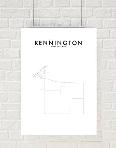 KENNINGTON HOMETOWN PRINT
