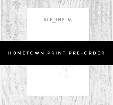 PRE-ORDER (INTERNATIONAL) HOMETOWN PRINT
