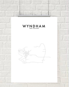 WYNDHAM HOMETOWN PRINT