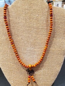 MALA BEADS (COLORIZED ROSEWOOD)