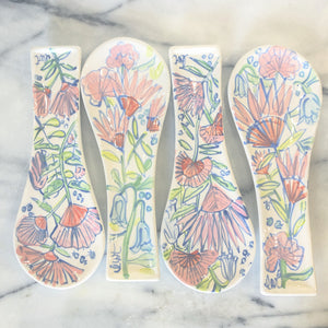 Floral Spoon Rest
