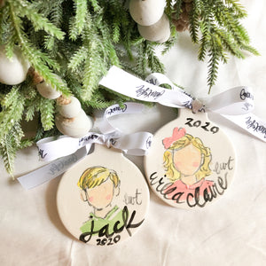 Personalized Child Ornament