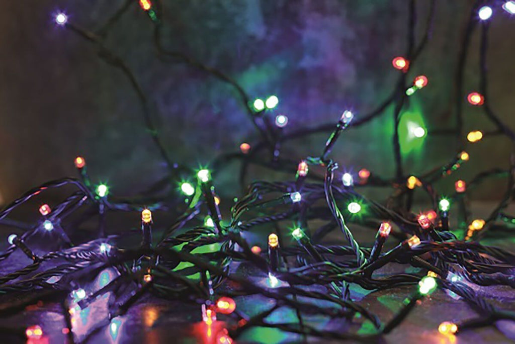 1000 Multicoloured Christmas Lights from The Christmas Forest