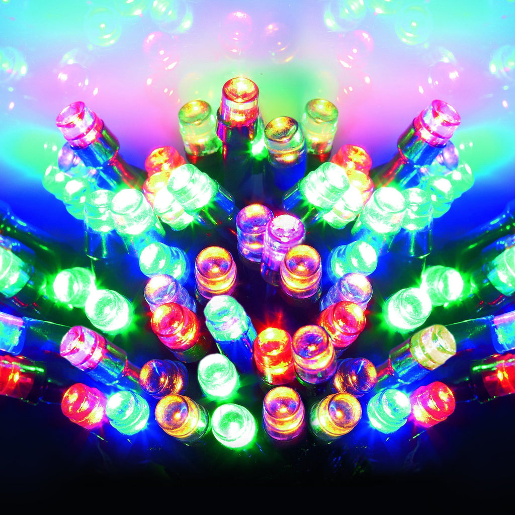 1000 Multicolour LED String Christmas Lights from The Christmas Forest