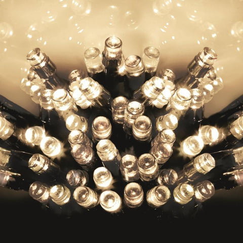 120 Warm White LED String Lights