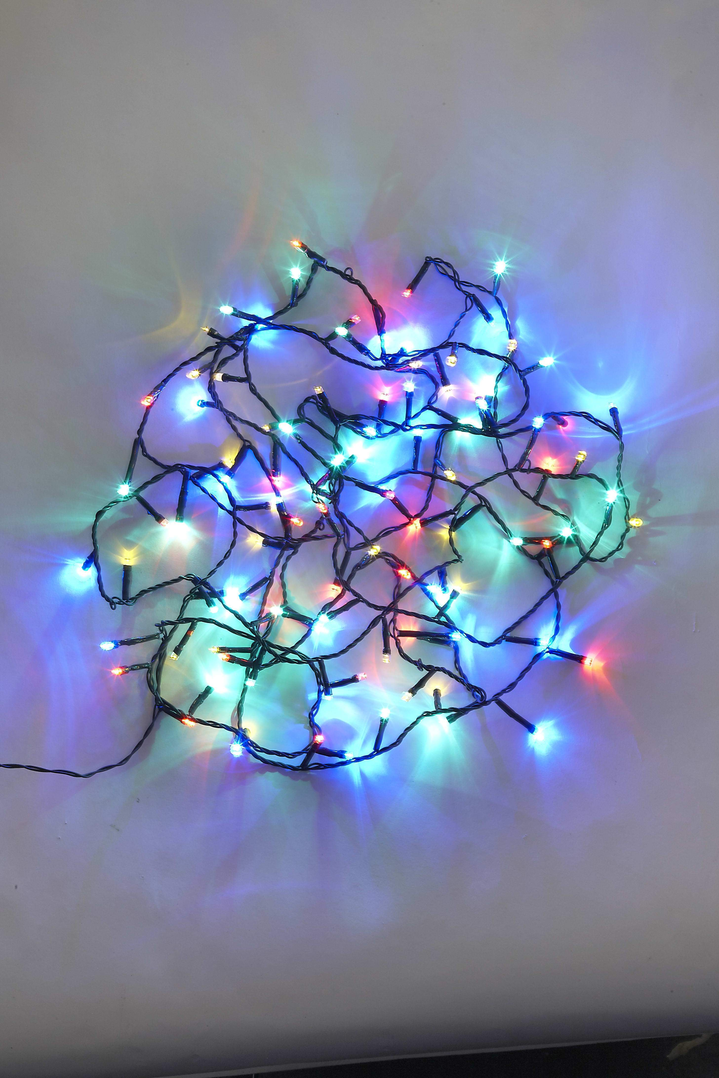 240 Multicolour LED String Lights from The Christmas Forest
