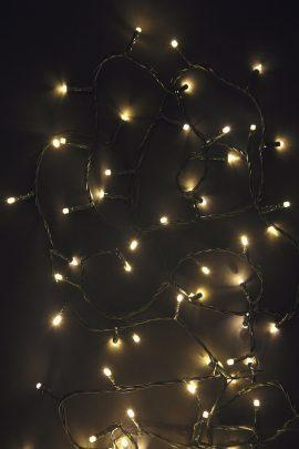 240 Warm White LED String Lights