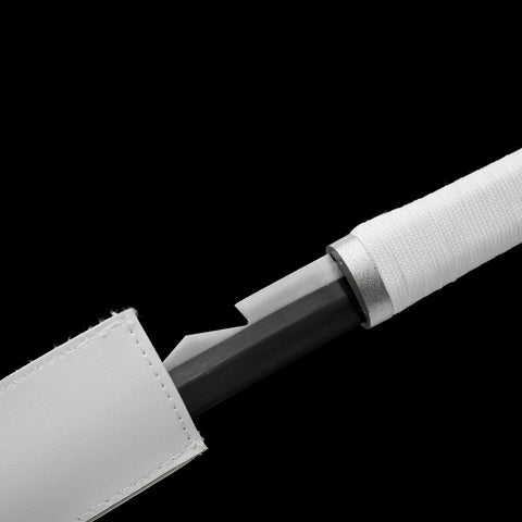 Japanese Taichi Sword Clay Tempered Blade Hand Polishing Katana Samurai Swords