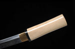 Authentic Japanese Samurai Katana1095 High Carbon Clay-Temper Tanto Sword