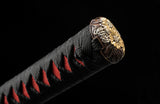 Fully Hand Forged Clay Tempered Blade Unokubi-Zukuri Japanese Samurai Sword #502