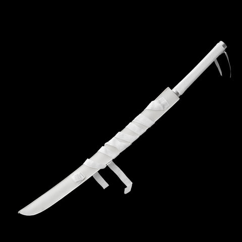 1095 High Carbon Steel Clay Tempered Katana with Handle Leather Ito