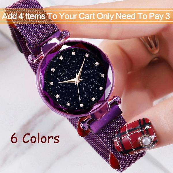 Six Colors Starry Sky Watch Perfect Gift Idea!(Buy 3 Free Shipping)