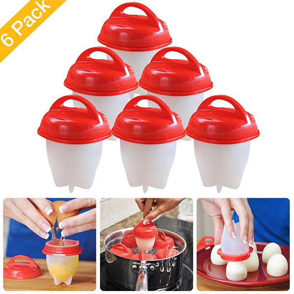 Food-Grade Silicone Egg Cooker