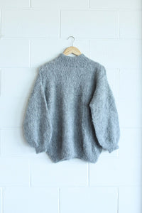 Kusi wool jumper grey
