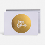 Birthday circle card