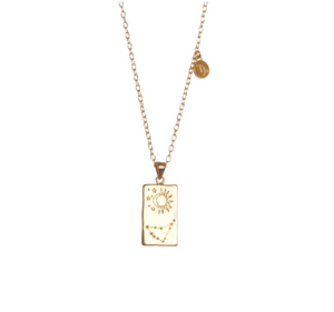Zodiac Necklace – Capricorn