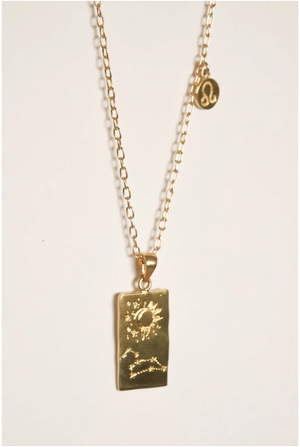 Zodiac Necklace – Leo
