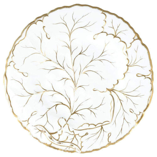 Gilded Majolica Die-Cut Placemat - 1 Per Package in Ivory