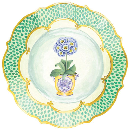 Primroses Die-Cut Placemat - 1 Per Package