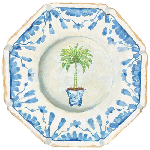 Potted Palms Die-Cut Placemat - 1 Per Package