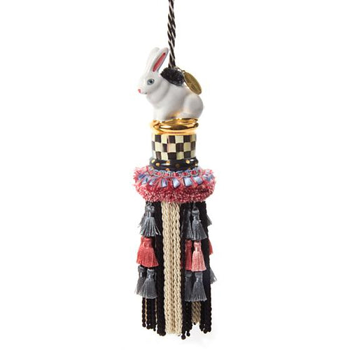 Rabbit Tassel - Courtly Check