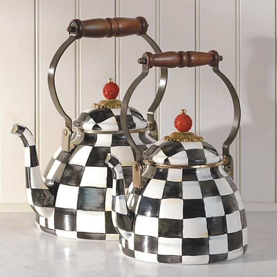 Courtly Check Kettles