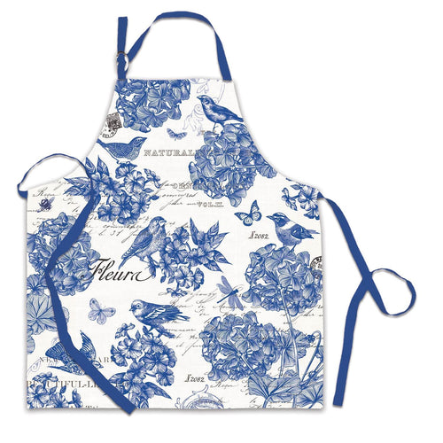 Indigo Cotton Apron