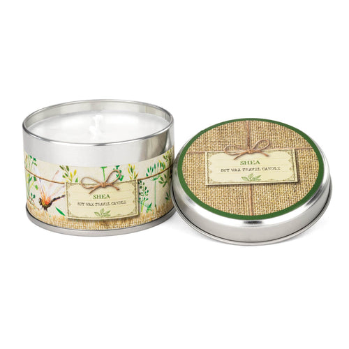 Shea Travel Candle Tin