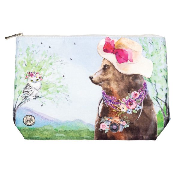 Garden Party Large Cosmetic Bag