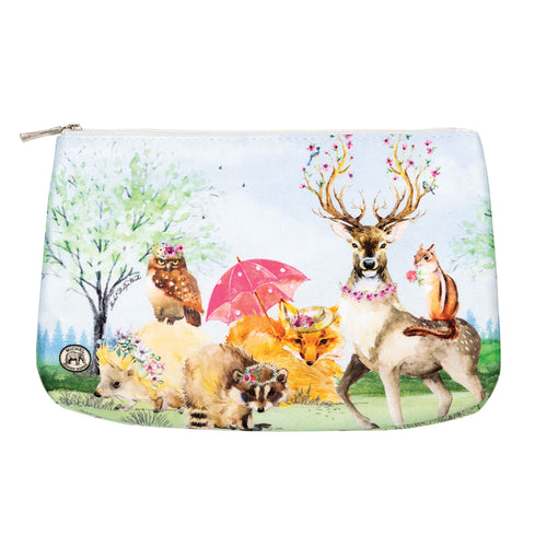 Garden Party Medium Cosmetic Bag
