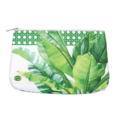 Palm Breeze Medium Cosmetic Bag